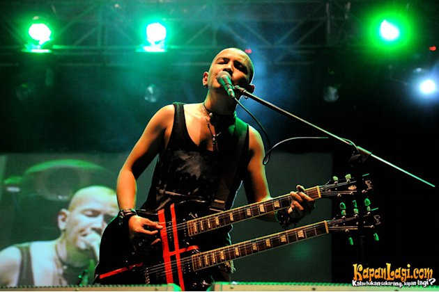 Penampilan Kotak di Jakarta Blues Festival 2012