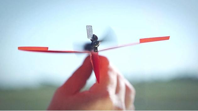 A Paper Plane that Flies, Not Just Glides