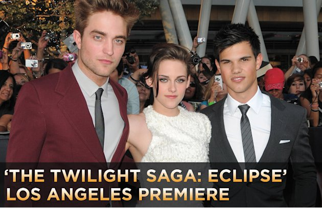 The Twilight Saga Eclipse LA Premiere 2010 Title Card