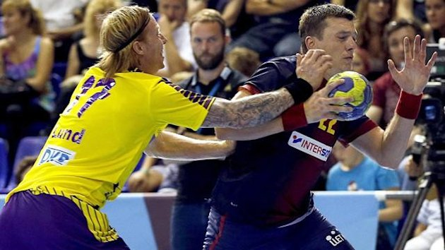 Handball 2012/2013 Champions League: Barcelona Berlin