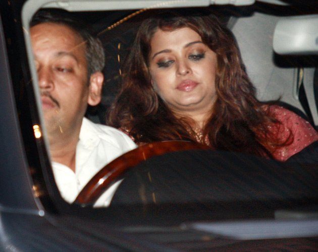Aishwarya at a party
