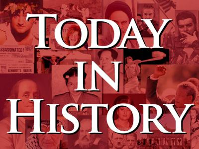 Today in History for September 8th