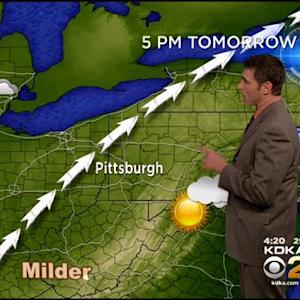 KDKA-TV Evening Forecast (12/18)