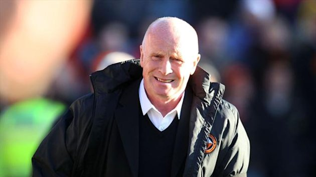 Peter Houston, who has shown interest in Hearts, left Dundee United in January