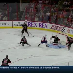 Braden Holtby Save on Justin Faulk (03:06/3rd)