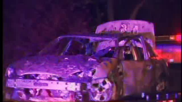 Two bodies found in burned car