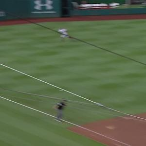 Suarez's RBI single