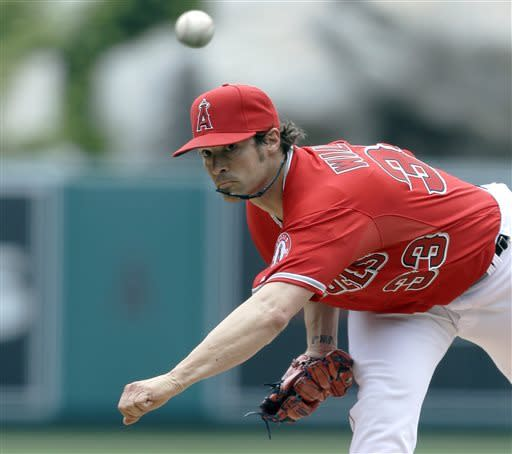 Trout, Hamilton HR, Wilson and Angels beat Astros