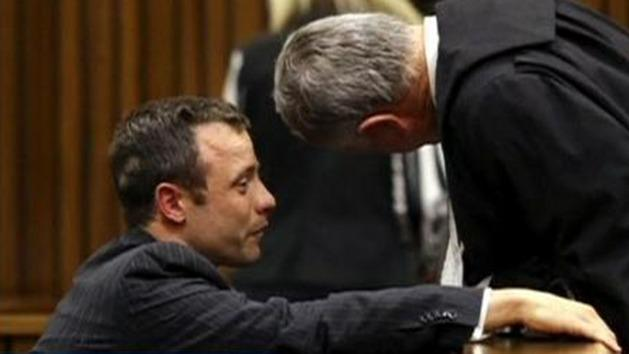 Pistorius physically sick in court