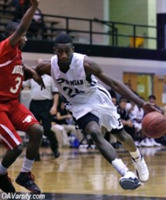 Permian basketball player Jerry Joseph, who is actually Guerdwich Montimere