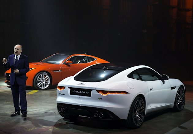 Jaguar F-Type Coupe LA Auto Show reveal ian callum