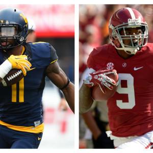 Better NFL WR: West Virginia's Kevin White Or Alabama's Amari Cooper?