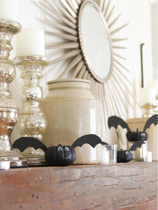 Go Batty With Mini Pumpkins