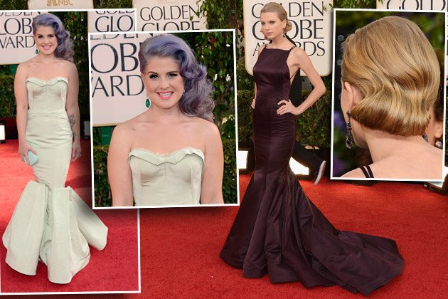 Hot: Taylor Swift (r.), eher not: Kelly Osbourne (Bilder: Getty Images)