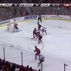 Braden Holtby Save on Patrick Wiercioch (09:46/2nd)