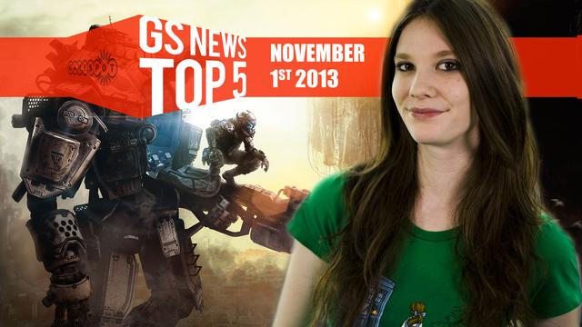GS News Top 5 - EA cancel Command & Conquer; COD:Ghosts next-gen resolution war!