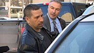 Tow-truck driver Herculano Pereira, seen getting into a vehicle after leaving court on Wednesday, told jurors that he rushed to aid Toronto police Sgt. Ryan Russell after he was hit by a snowplow on Jan. 12, 2011.
