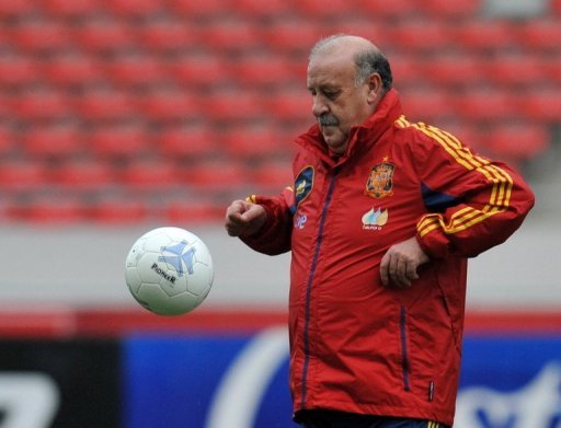 Spain's Head Coach Vicente …