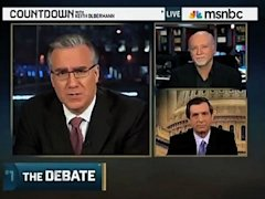 Olbermann responds to Kurtz piece
