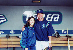 Rosie Santizo and Edgar Martinez