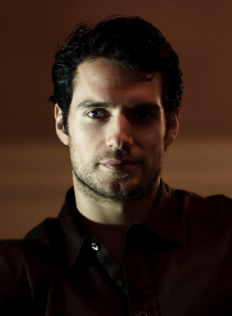 "In this Oct. 29, 2011 photo, actor Henry Cavill poses for a portrait at the Four Seasons Hotel in Beverly Hills, Calif. Cavill stars in the film ""Immortals,"" which opens on Friday, Nov. 11.  (AP Photo/Kristian Dowling)"