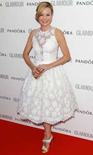 Amanda Holden wears Azagury to the Glamour Awards - our exclusive interview with the designer!