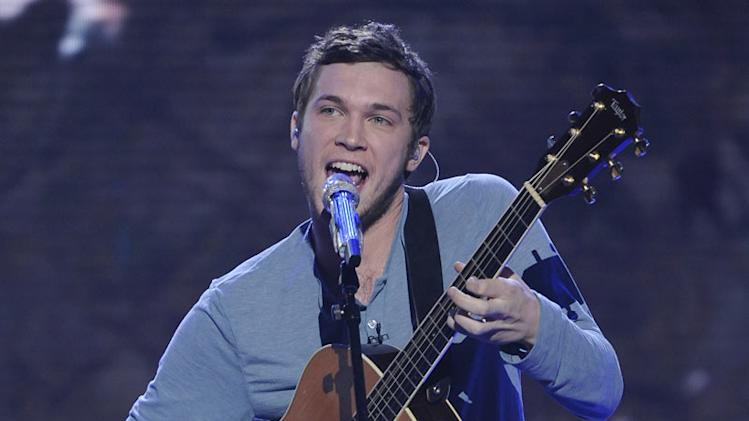 "Phillip Phillips performs ""Superstition"" by Stevie Wonder on American Idol."""