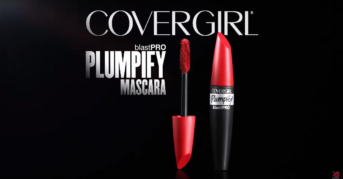 Use COVERGIRL® Plumpify Mascara to lift lashes!