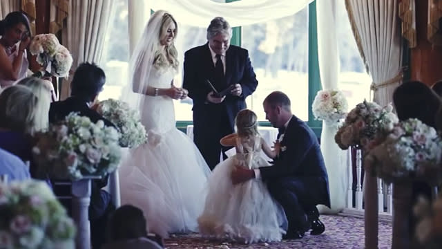 This Groom Paused During His Wedding to Say Vows to His Bride's Daughter and It Was Truly Beautiful