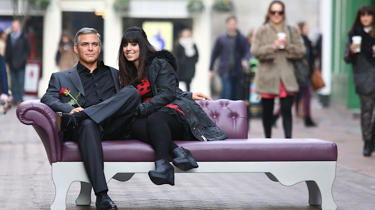 Madame Tussauds Launch New George Clooney Waxwork Ahead Of Valentine's Day