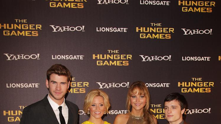 The Hunger Games - European Premiere - Inside Arrivals
