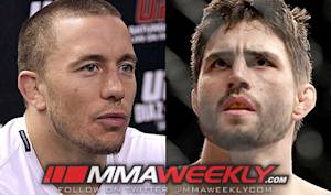 GSP vs. Condit and Hendricks vs. Kampmann Penciled In for UFC 154 in Montreal