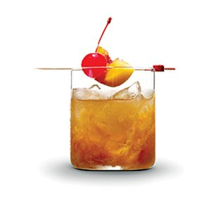 Peachy Old-Fashioned