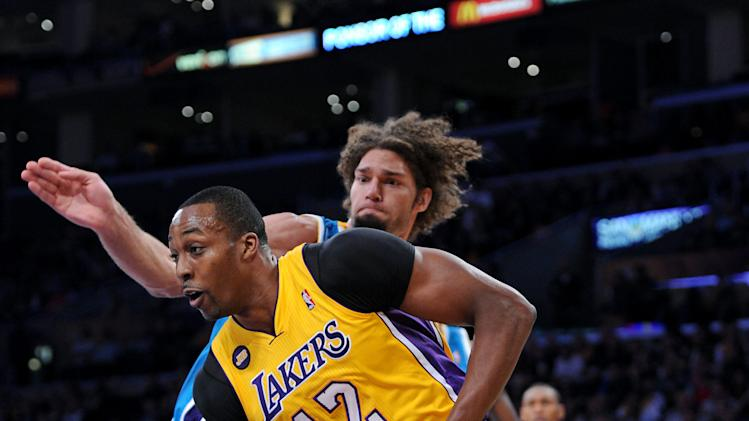 NBA: New Orleans Hornets at Los Angeles Lakers