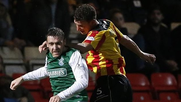 Paul Heffernan, left, joined Hibernian from Kilmarnock earlier this season