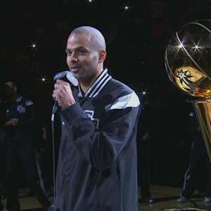 Spurs Ring Ceremony