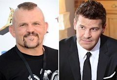 Chuck Liddell, David Boreanaz | Photo Credits: Frazer Harrison/Getty Images, Adam Taylor/Fox