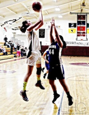 Gres-Sims girls basketball star Cassidy Boensch — Lighthouse Graphips via Facebook
