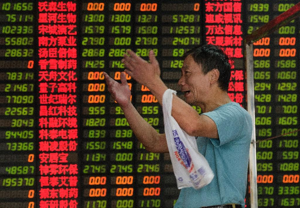 Shanghai stocks plunge 4.39% on economic gloom