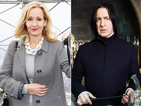 J.K. Rowling Reveals What Professor Severus Snape Smells Like, and It's Hilarious