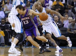 Nash leads Suns past Hornets, 120-103