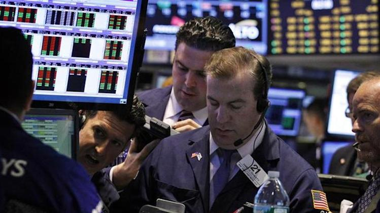 Traders work on the floor of the New York Stock Exchange, September 9, 2013. REUTERS/Brendan McDermid