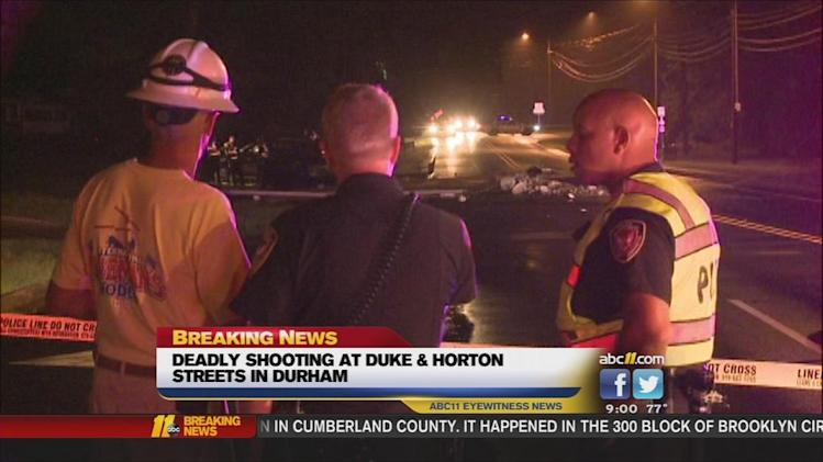 Deadly shooting at Duke Street and Horton Road in Durham