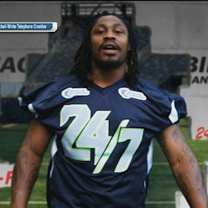Pop Culture Crossover: Seattle Seahawks running back Marshawn Lynch the plumber?