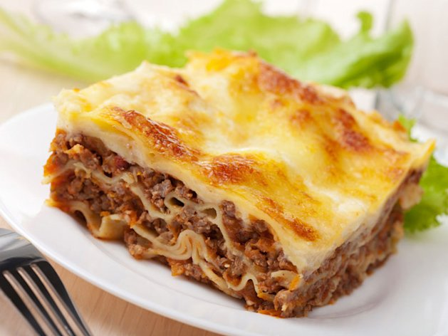 illustration Invention des lasagnes