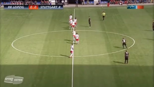 "VIDEO: Red Bull Leipzig score goal on ""Hail Mary"" scripted play 