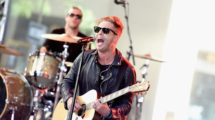 "OneRepublic Performs On NBC's ""Today"""