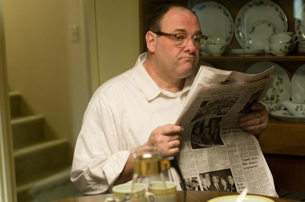James Gandolfini plays Pat in Not Fade Away
