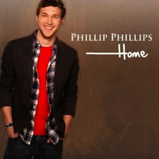 "The album cover for Phillip Phillip's first single, ""Home"" — Universal Records"