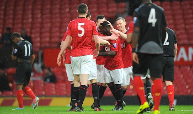 Soccer - Barclays Under-21 Premier League - Semi Final - Manchester United U21 v Liverpool U21 - Old Trafford